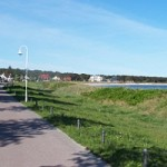 Strandpromenade von Glowe