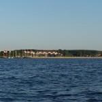 Hafen Glowe vom Wasser aus