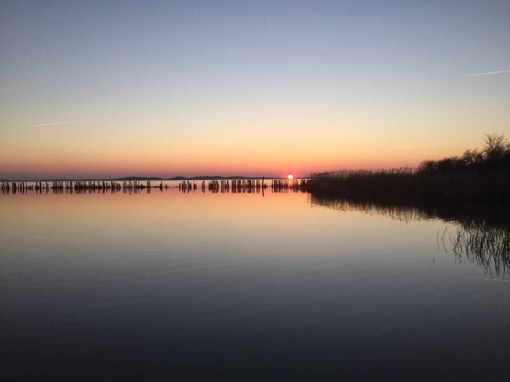 Abend am Polchower Hafen