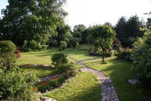 Weg  zum Garten